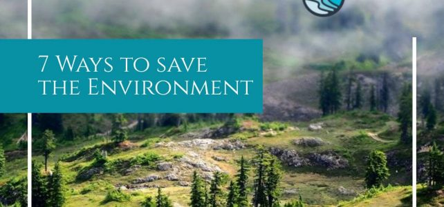 ways to save the environment